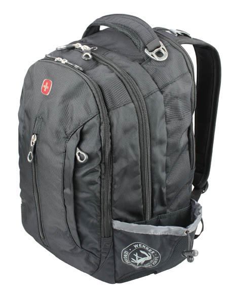 WENGER Rucksack COOL mit Notebookfach schwarz 38cm/15\'\'