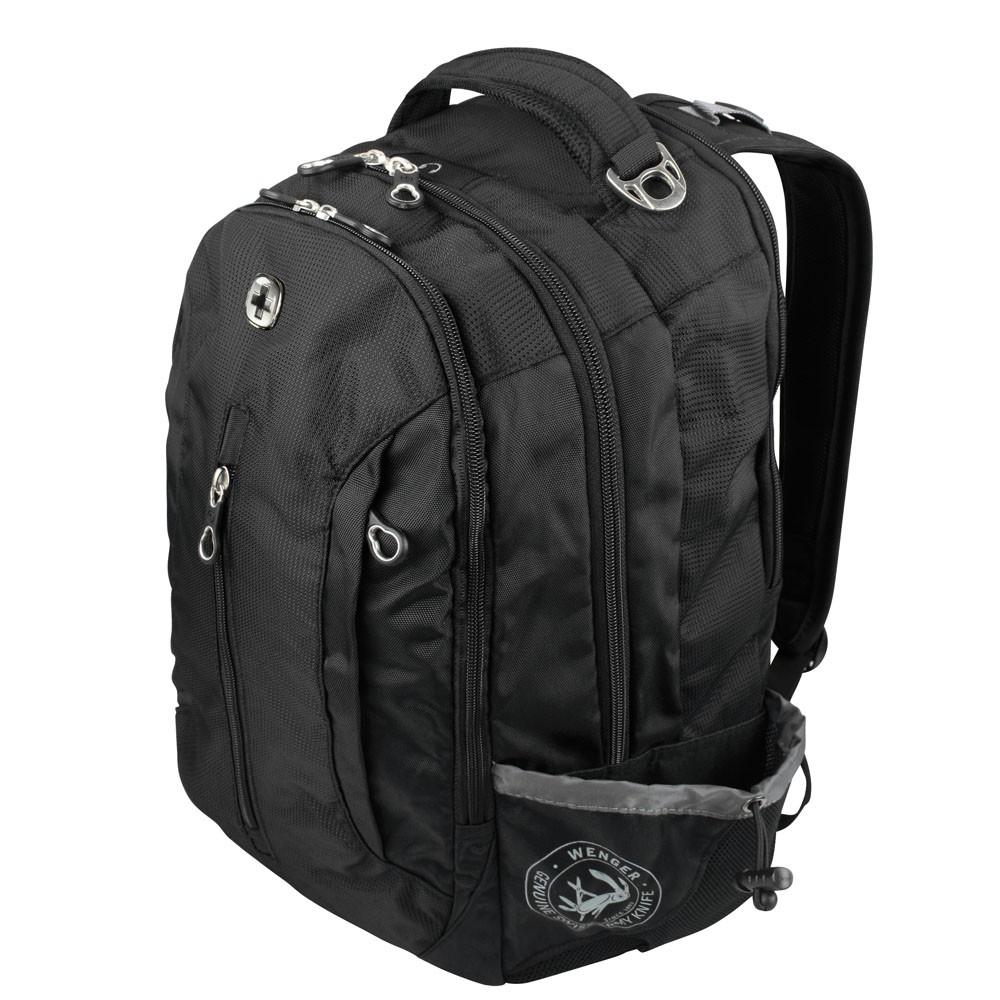 WENGER Rucksack COOL mit Notebookfach 38cm/15\'\' in schwarz