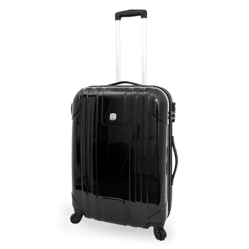 wenger 4 rollen koffer trolley 66 cm polycarbonate serie pc light s bags 39 n more. Black Bedroom Furniture Sets. Home Design Ideas